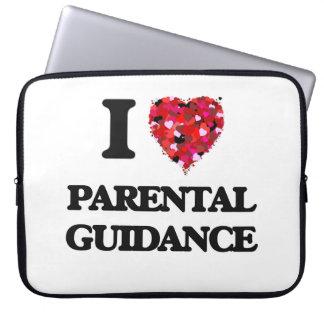Amo orientación para padres fundas portátiles