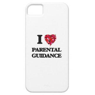Amo orientación para padres iPhone 5 funda