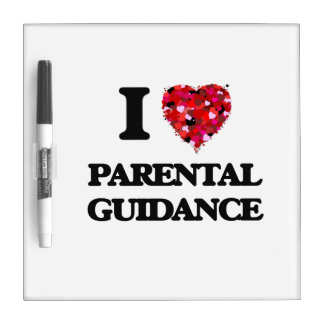 Amo orientación para padres pizarra