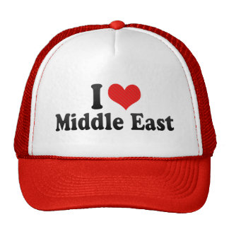 Amo Oriente Medio Gorro De Camionero