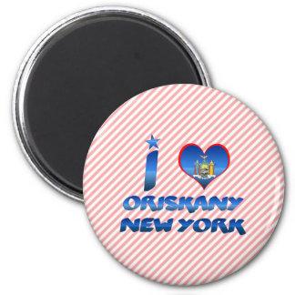 Amo Oriskany, Nueva York Imán De Frigorífico