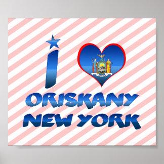 Amo Oriskany, Nueva York Impresiones
