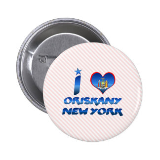 Amo Oriskany, Nueva York Pins