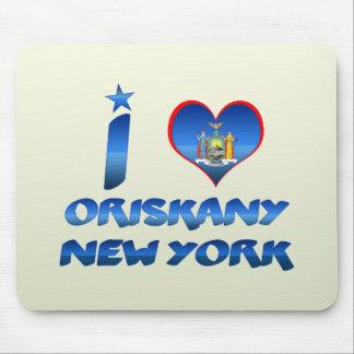 Amo Oriskany, Nueva York Tapetes De Raton