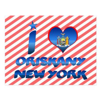 Amo Oriskany, Nueva York Tarjeta Postal
