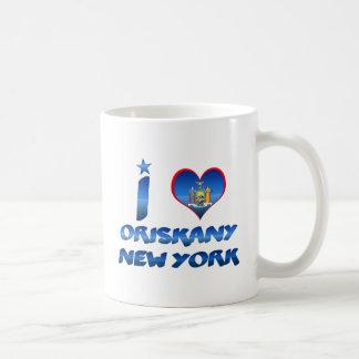 Amo Oriskany, Nueva York Taza