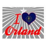 Amo Orland, Indiana Postales