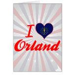 Amo Orland, Indiana Tarjetas