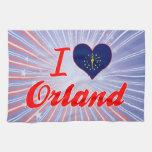 Amo Orland, Indiana Toalla De Cocina