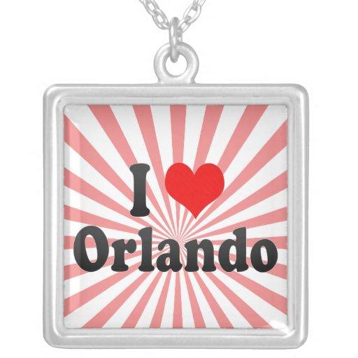 Amo Orlando, Estados Unidos Collar Personalizado