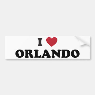 Amo Orlando la Florida Pegatina Para Auto