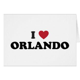 Amo Orlando la Florida Tarjeta De Felicitación