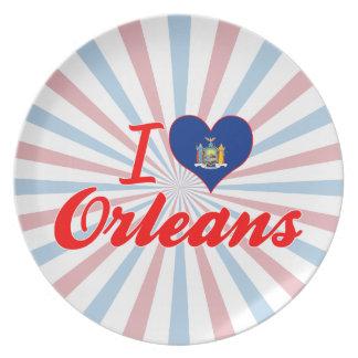 Amo Orleans, Nueva York Platos