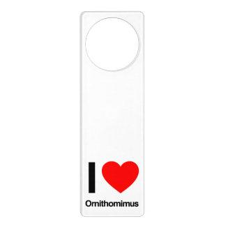 amo ornithomimus colgantes para puertas