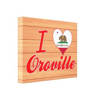 Amo Oroville, California Impresión En Lona