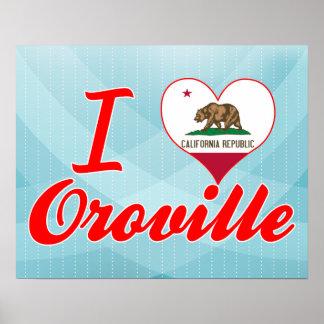 Amo Oroville, California Impresiones