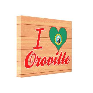 Amo Oroville, Washington Impresiones En Lona
