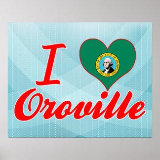 Amo Oroville, Washington Posters