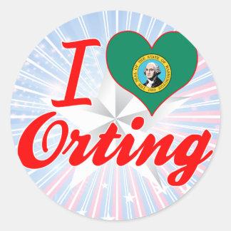 Amo Orting Washington Etiqueta