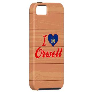 Amo Orwell, Nueva York iPhone 5 Case-Mate Funda