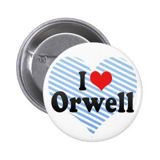 Amo Orwell Pin