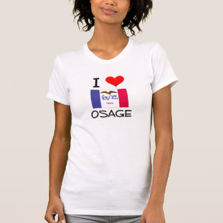 Amo OSAGE Iowa Camiseta