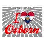 Amo Osborn, Missouri Tarjeta Postal