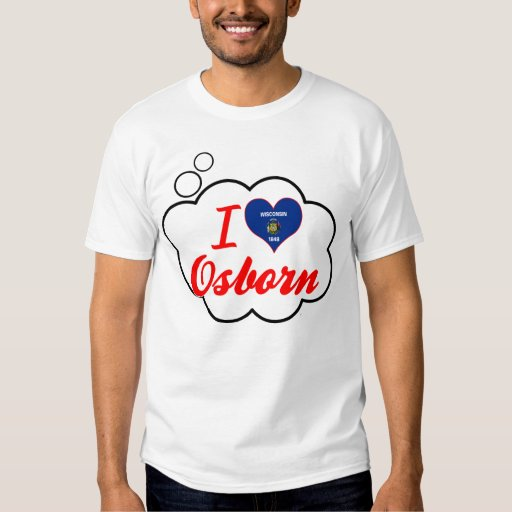 Amo Osborn, Wisconsin Remeras
