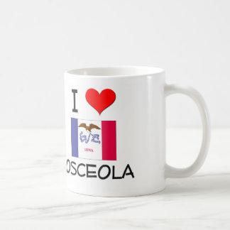Amo OSCEOLA Iowa Tazas De Café