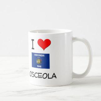Amo Osceola Wisconsin Taza De Café