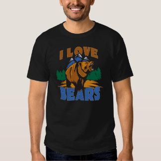 Amo osos camisas