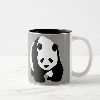 Amo osos de panda tazas