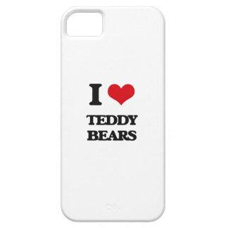 Amo osos de peluche iPhone 5 fundas