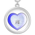 Amo osos polares colgante personalizado