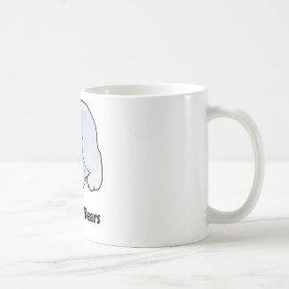 Amo osos polares taza clásica