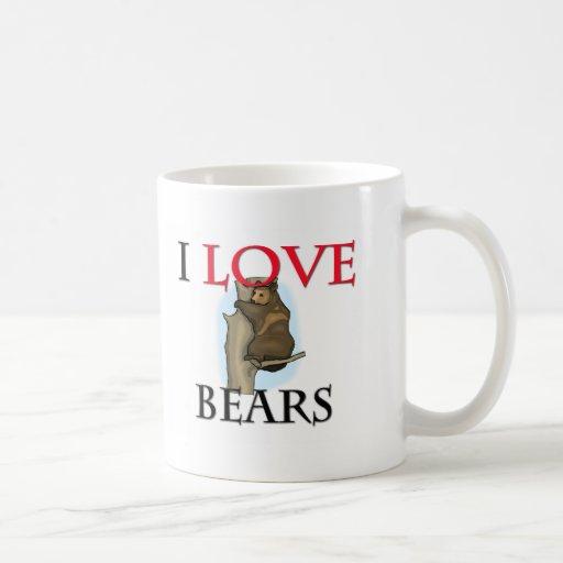 Amo osos taza