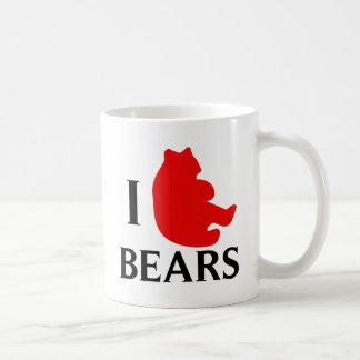 Amo osos taza clásica