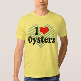 Amo ostras remera