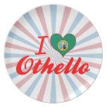 Amo Othello, Washington Plato De Cena