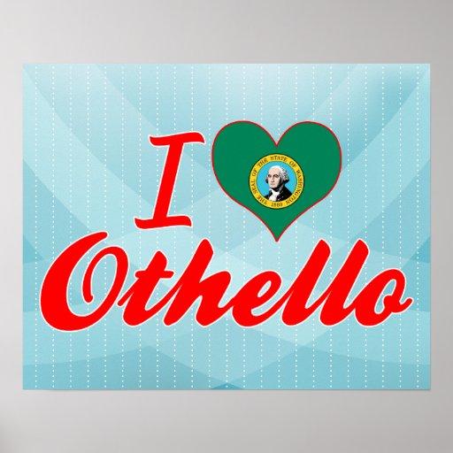 Amo Othello, Washington Posters