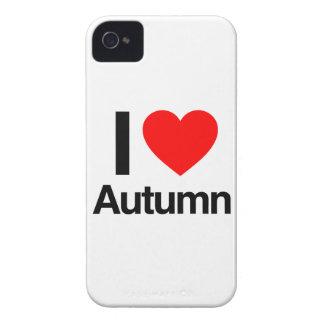 amo otoño iPhone 4 funda