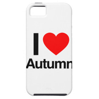 amo otoño iPhone 5 carcasa