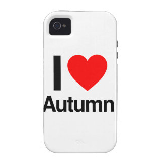 amo otoño vibe iPhone 4 carcasa