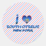 Amo Otselic del sur, Nueva York Etiquetas Redondas