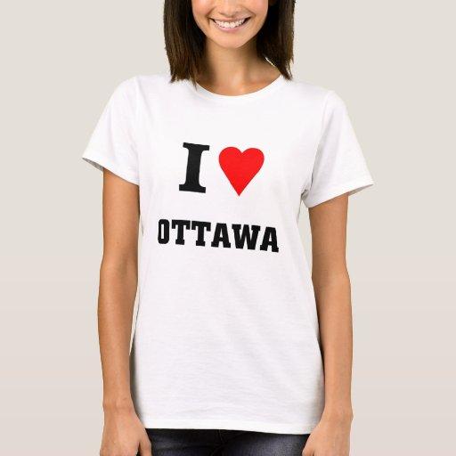 Amo Ottawa Playera