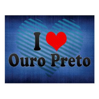 Amo Ouro Preto, el Brasil Postales