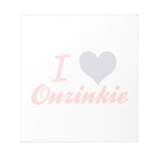 Amo Ouzinkie, Alaska Bloc De Papel