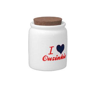 Amo Ouzinkie, Alaska Jarra Para Caramelo
