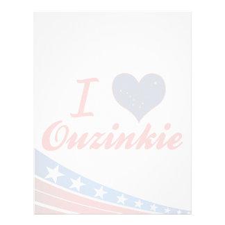 Amo Ouzinkie, Alaska Membrete Personalizado