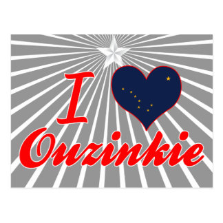 Amo Ouzinkie, Alaska Tarjeta Postal
